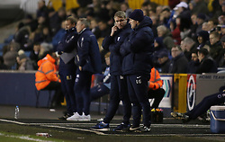Peterborough United Manager Grant McCann looks on from the touchline - Mandatory by-line: Joe Dent/JMP - 28/02/2017 - FOOTBALL - The Den - London, England - Millwall v Peterborough United - Sky Bet League One