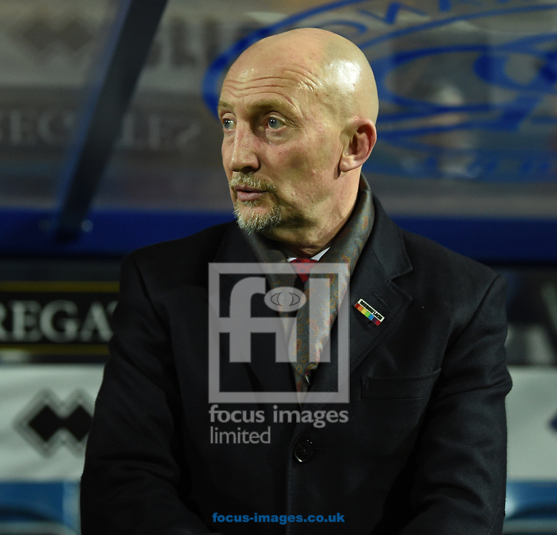 Ian Holloway Manager of Queens Park Rangers during the Sky Bet Championship match at the Loftus Road Stadium, London<br /> Picture by Simon Dael/Focus Images Ltd 07866 555979<br /> 27/11/2017