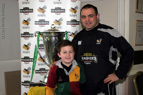London Wasps CoachClass at Windsor RFC..Pictures taken with Raphael Ibanez.