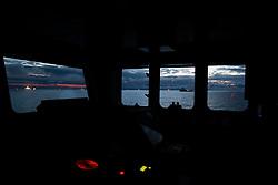 NORTH SEA MYAS 19JUN19 -  BP rig moves into position in the North Sea.<br /> <br /> jre/Photo by Jiri Rezac / Greenpeace<br /> <br /> © Jiri Rezac 2019