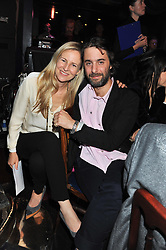 ALANNAH WESTON and her husband ALEXANDER SURSOCK COCHRANE at the Hoping Variety Show - A benefit evening for Palestinian Refugee Children held at The Cafe de Paris, Coventry Street, London on 21st November 2011.