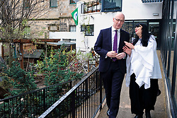 Pictured: Mr Swinney chats with manager Lynn McNair<br /> Deputy First Minister John Swinney visited Cowgate Nursery in Edinburgh to meet children, staff and modern apprentices working in early years and childcare. Mr Swinney confirmed that a record number of early years apprenticeships are expected to start this year as part of the expansion of free nursery and childcare.  Mr Swinney toured the nursery and discussed the City of Edinburgh Council&rsquo;s plans to expand the early years and childcare workforce and met with modern apprentices as well as Jake Stefanovic, an ambassador from the Scottish Government&rsquo;s childcare recruitment campaign.<br /> <br /> <br /> Ger Harley | EEm 13 February 2018
