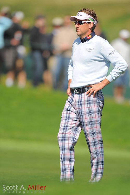 Ian Poulter during the second round of the 112th U.S. Open at The Olympic Club on June 15, 2012 in San Fransisco. ..©2012 Scott A. Miller