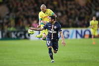 Vincent BESSAT / Ezequiel LAVEZZI - 03.05.2015 - Nantes / Paris Saint Germain - 35eme journee de Ligue 1<br />