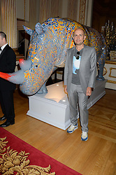 MARC QUINN at The Animal Ball in aid of The Elephant Family held at Lancaster House, London on 9th July 2013.