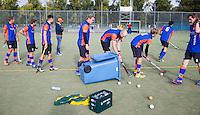 HAARLEM - Eerste ronde bekerhockey om de SILVERCUP. Saxenburg tegen Abcoude COPYRIGHT KOEN SUYK