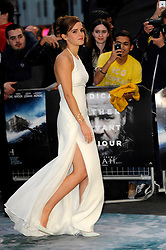 Emma Watson arrives for the UK premiere of the film 'Noah', Odeon, London, United Kingdom. Monday, 31st March 2014. Picture by Chris Joseph / i-Images