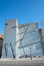 Jewish Museum in Berlin Germany designed by Daniel Libeskind