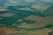 Frutal_MG, Brasil ..Foto aerea de uma plantacao em Frutal...Aerial view of the agriculture in Frutal...Foto: BRUNO MAGALHAES /  NITRO