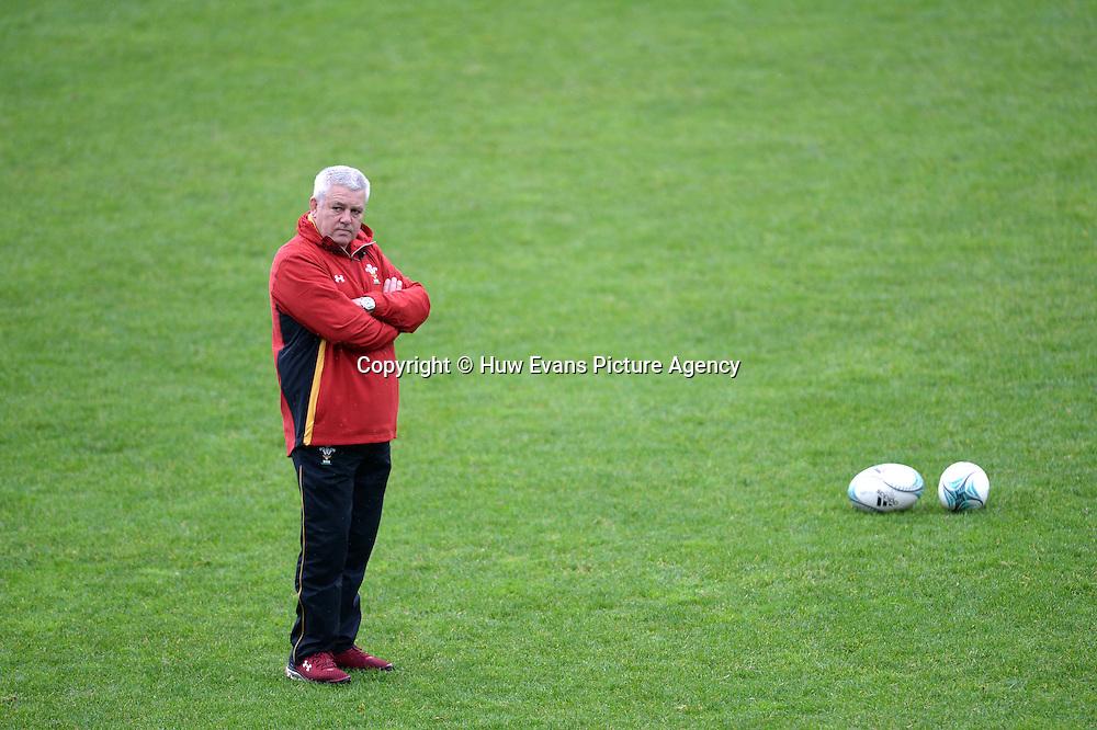 23.06.16 - Wales Rugby Training -<br /> Warren Gatland during training.