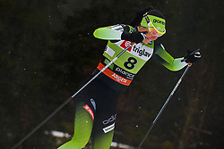 Katja Visnar (SLO) during the Ladies sprint free race at FIS Cross Country World Cup Planica 2019, on December 21, 2019 at Planica, Slovenia. Photo By Grega Valancic / Sportida