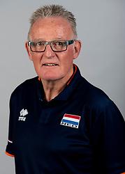 14-05-2018 NED: Team shoot Dutch volleyball team men, Arnhem<br /> Teammanager Tom Berwers