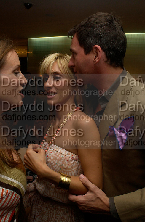 Emily Oppenheimer, Princess Alexandra von Furstenburg and Tim Jeffries. Book launch of ' The Russian House'  by Ella Krasner at De Beers. 50 Old Bond St. London W1. ONE TIME USE ONLY - DO NOT ARCHIVE  © Copyright Photograph by Dafydd Jones 66 Stockwell Park Rd. London SW9 0DA Tel 020 7733 0108 www.dafjones.com