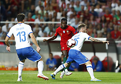 September 10, 2018 - Lisbon, Italy - Portugal v Italy - UEFA Nations League.Bruma of Portugal kikcs the ball at Estadio da Luz in Lisbon, Portugal on September 10, 2018. (Credit Image: © Matteo Ciambelli/NurPhoto/ZUMA Press)
