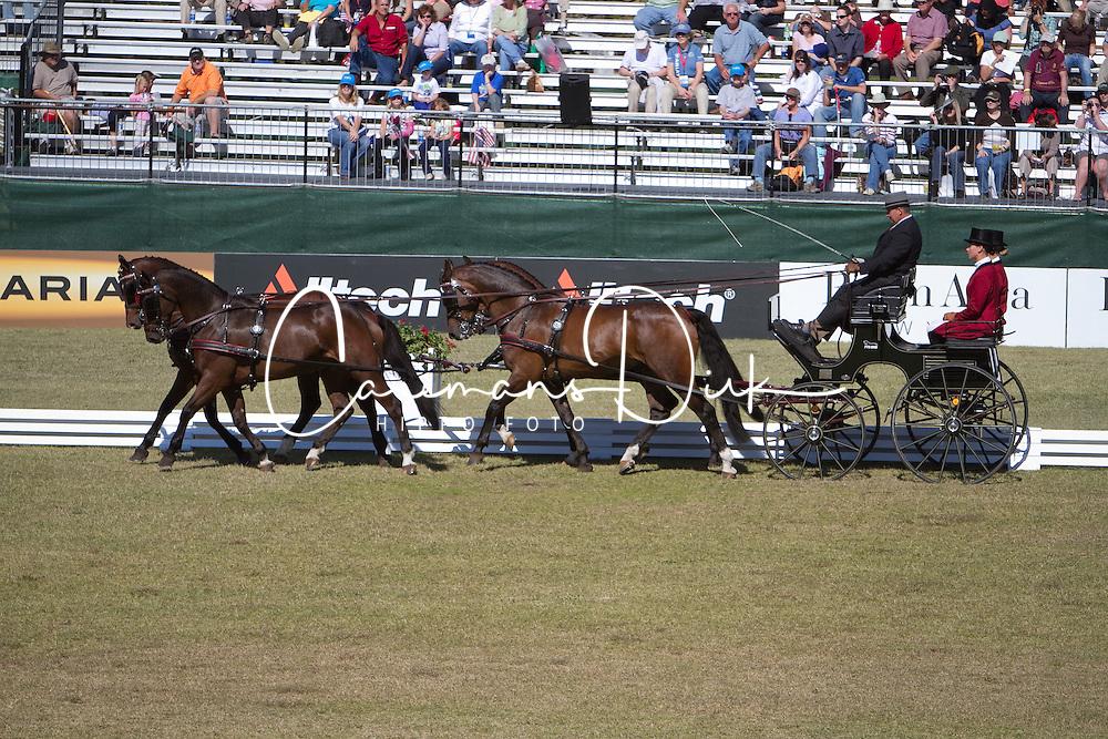 IJsbrand Chardon (NED) co leading the dressage competition <br /> Alltech FEI World Equestrian Games <br /> Lexington - Kentucky 2010<br /> &copy; Hippo Foto - Dirk Caremans