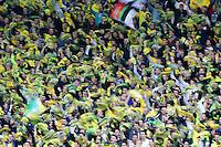 Supporters Nantes - 17.04.2015 - Nantes / Marseille - 33eme journee de Ligue 1<br />Photo : Vincent Michel / Icon Sport