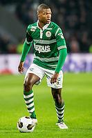 EINDHOVEN - PSV - Sparta Rotterdam , Voetbal , Eredivisie , Seizoen 2016/2017 , Philips Stadion , 22-10-2016 , Sparta speler Denzel Dumfries