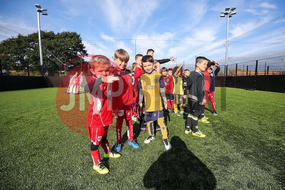 Bristol CIty Community Trust half term football camp - Rogan Thomson/JMP - 27/10/2016 - FOOTBALL - South Bristol Sports Centre - Bristol, England.