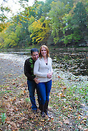 10/14/12 9:27:38 AM - Newtown, PA.. -- Amanda & Elliot October 14, 2012 in Newtown, Pennsylvania. -- (Photo by William Thomas Cain/Cain Images)