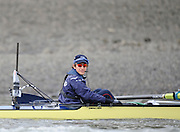 Putney, GREAT BRITAIN,    2008 Boat Race, Tideway Week, 2008 Oxford president and Cox Nick BRODIE, during the Oxford Training outing on the River Thames, Wed. 26.03.2008 [Mandatory Credit, Peter Spurrier / Intersport-images Varsity Boat Race, Rowing Course: River Thames, Championship course, Putney to Mortlake 4.25 Miles,