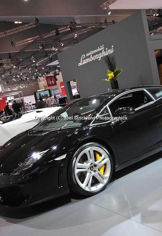 Lamborghini Gallardo.Media Preview .Melbourne International Motorshow.Melbourne Exhibition Centre.Clarendon St, Southbank, Melbourne .Friday 27th of February 2009.(C) Joel Strickland Photographics.