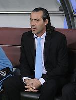 FUSSBALL   INTERNATIONAL   Testspiel  in  Doha  17.11.2010 Argentinien - Brasilien Trainer Sergio Batista (Argentinien)