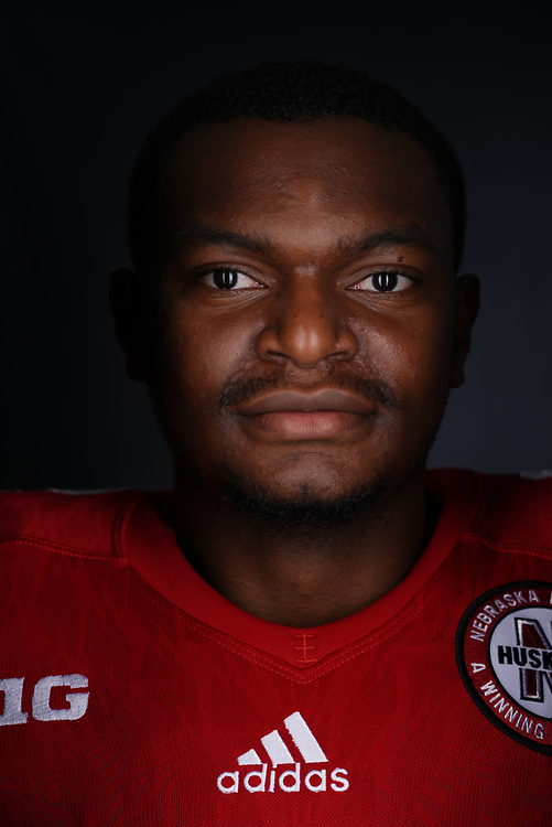 Tony Butler #2 during a portrait session at Memorial Stadium in Lincoln, Neb. on June 6, 2017. Photo by Paul Bellinger, Hail Varsity