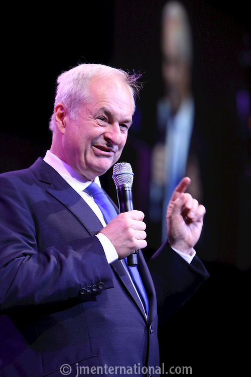 Paul Gambaccini, the 2011 MITs Award. Held at the Grosvenor Hotel London in aid of Nordoff Robbins and the BRIT School. Monday, Nov.7, 2011