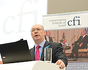 Conservative Party Conference, Manchester, Great Britain <br /> 3rd October 2011 <br /> <br />  Conservative Friends of Israel <br /> fringe meeting <br /> <br /> <br /> Alistair Burt <br /> Parliamentary Under Secretary of State Foreign &amp; Commonwealth Office<br /> <br /> <br /> <br /> Photograph by Elliott Franks