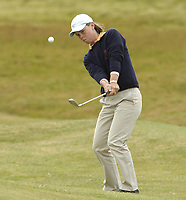 Golf, 11. juni 2005,Holland's Christel Boeljon chips to the 14th green during her defeat to Ireland's Claire Coughlan