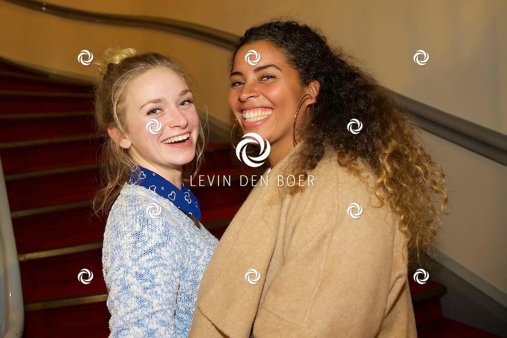LEIDEN - Rick Engelkes Producties presenteerde in de Leidse Schouwburg de première van De Verleiding van een Moordvrouw. Met hier op de foto  Pip Pellens samen met   . FOTO LEVIN DEN BOER - PERSFOTO.NU