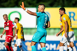 Igor Vekić of Bravo during football match between NK Bravo and NK Aluminij in 5th Round of Prva liga Telekom Slovenije 2019/20, on August 9, 2019 in Sports park ZAK, Ljubljana, Slovenia. Photo by Vid Ponikvar / Sportida