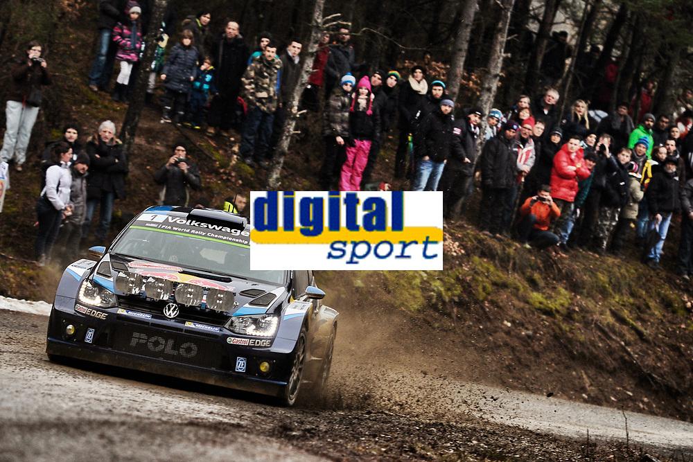 Sebastien Ogier (FR) / Julien Ingrassia (FR) - Volkswagen Polo WRC