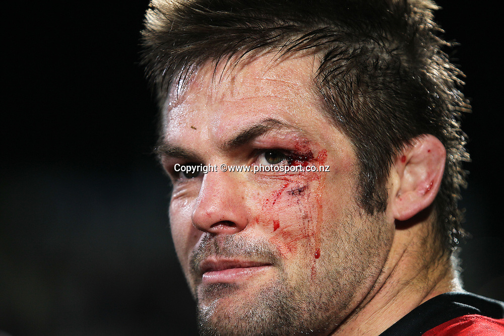 Richie McCaw of the Crusaders following the Investec Super Rugby Semi Final, Crusaders v Sharks at AMI Stadium, Christchurch. 26 July 2014 Photo: Joseph Johnson/www.photosport.co.nz