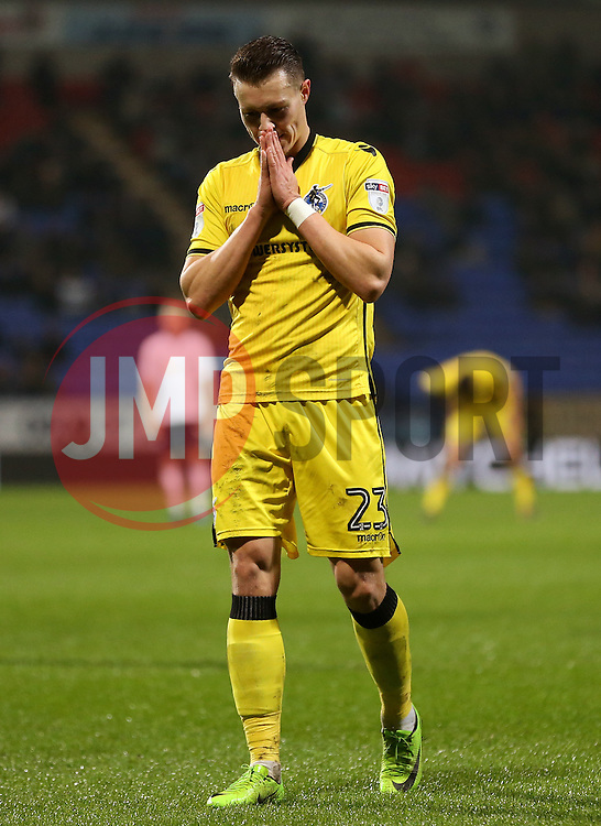 Billy Bodin of Bristol Rovers reacts after missing a chance - Mandatory by-line: Matt McNulty/JMP - 28/02/2017 - FOOTBALL - Macron Stadium - Bolton, England - Bolton Wanderers v Bristol Rovers - Sky Bet League One