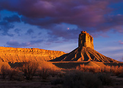 Chimney Rock, Four Corners region of southwestern Colorado.