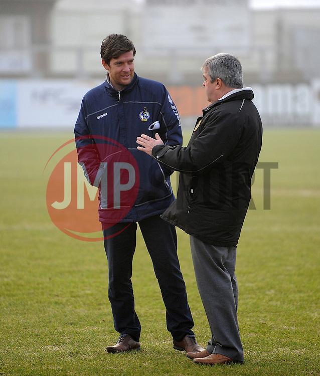 - Photo mandatory by-line: Neil Brookman/JMP - Mobile: 07966 386802 - 04/01/2015 - SPORT - football - Nuneaton - James Parnell Stadium - Nuneaton Town v Bristol Rovers - Vanarama Conference