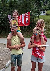 07.07.2017, St. Johann Alpendorf, AUT, Ö-Tour, Österreich Radrundfahrt 2017, 5. Kitzbühel - St. Johann/Alpendorf (212,5 km), im Bild Fans // Fans during the 5th stage from Kitzbuehel - St. Johann/Alpendorf (212,5 km) of 2017 Tour of Austria. St. Johann Alpendorf, Austria on 2017/07/07. EXPA Pictures © 2017, PhotoCredit: EXPA/ JFK