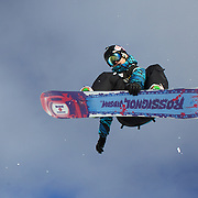 Michal Ligocki, Poland, in action during the Men's Half Pipe Qualification in the LG Snowboard FIS World Cup, during the Winter Games at Cardrona, Wanaka, New Zealand, 27th August 2011. Photo Tim Clayton..