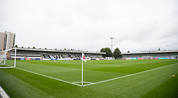 BOREHAMWOOD, ENGLAND - Saturday, September 28, 2019: A general view of Meadow Park before the Under-23 FA Premier League 2 Division 1 match between Arsenal FC and Liverpool FC. (Pic by Kunjan Malde/Propaganda)
