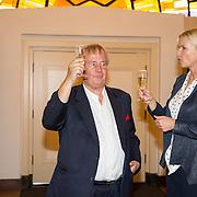 NLD/Heemstede/20151116 - Boekpresentatie De Zin van het Leven, Karel Hille en Anita Witzier