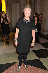 WENDY DAGWORTHY at a VIP preview of the V&A's new exhibition 'The Glamour of Italian Fashion' - a comprehensive look at Italian Fashion from 1945-2014 held at The Victoria & Albert Museum, London on 2nd April 2014.