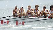 2006, U23 Rowing Championships, Hazewinkel, BELGIUM Thursday, 20.07.2006. CAN BM8+,. Photo  Peter Spurrier/Intersport Images email images@intersport-images.com....[Mandatory Credit Peter Spurrier/ Intersport Images] Rowing Course, Bloso, Hazewinkel. BELGUIM