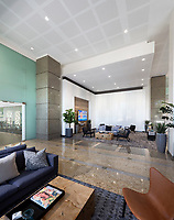Architectural interior image of renovations at 1310 N Courthouse Road in Arlington VA by Jeffrey Sauers of CPI Productions