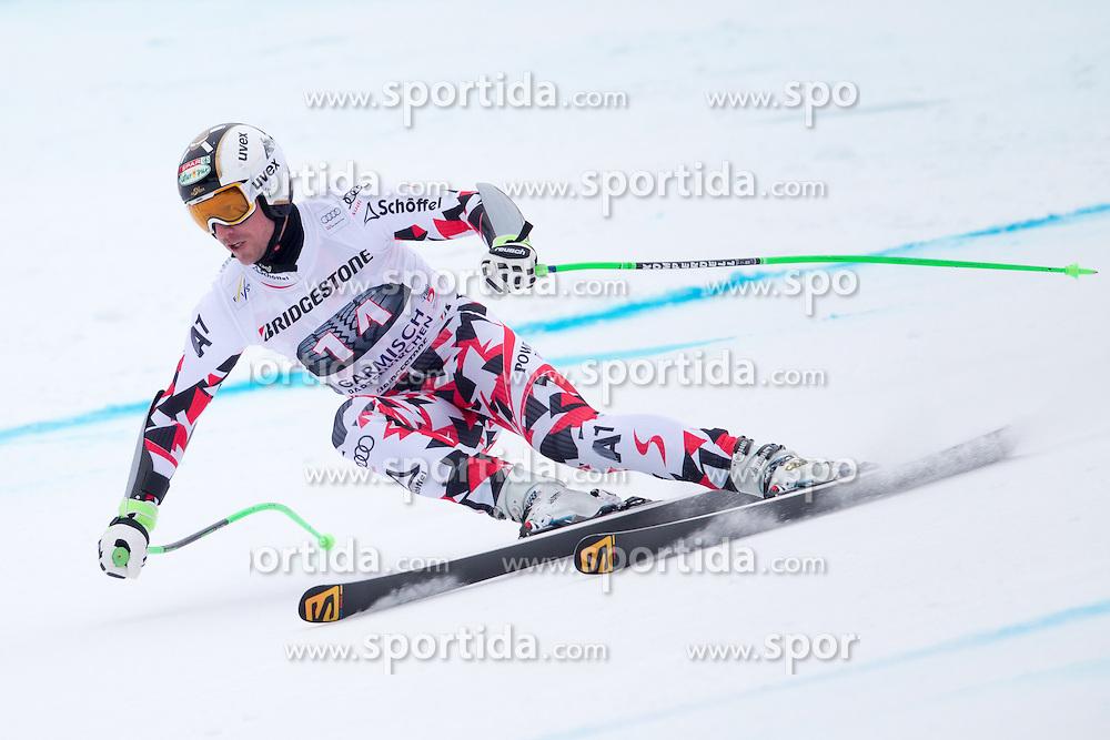 27.02.2015, Kandahar, Garmisch Partenkirchen, GER, FIS Weltcup Ski Alpin, Abfahrt, Herren, 2. Training, im Bild Hannes Reichelt (AUT) // Hannes Reichelt of Austria in action during the 2nd trainings run for the men's Downhill of the FIS Ski Alpine World Cup at the Kandahar course, Garmisch Partenkirchen, Germany on 2015/27/02. EXPA Pictures © 2015, PhotoCredit: EXPA/ Johann Groder