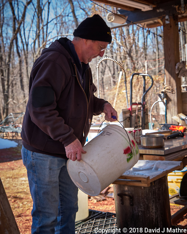 Maple Syrup Processing. Image taken with a Leica CL camera and 18-56 mm lens