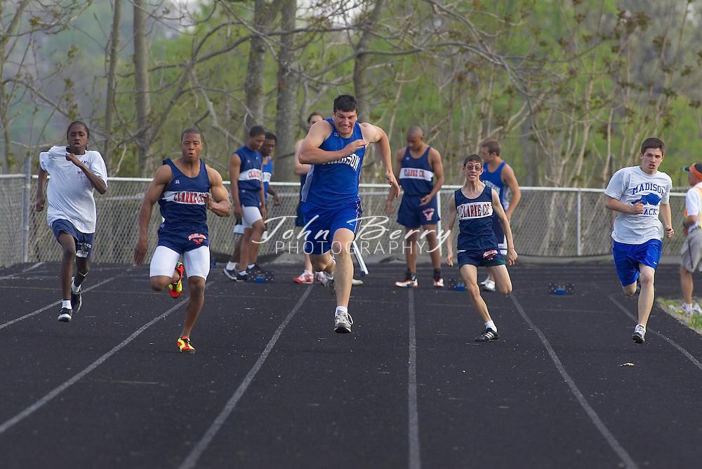 MCHS Track & Field vs Clarke, Wednesday, April 20, 2005