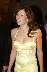 LIZ HURLEY at a party to launch 'Beauty Week' at the V&A in association with Estee Lauder- a special week of debates, talks and performances celebrating beauty on 24th January 2005.<br /><br />NON EXCLUSIVE - WORLD RIGHTS