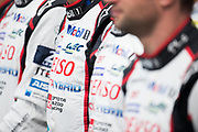 June 13-18, 2017. 24 hours of Le Mans. Toyota drivers