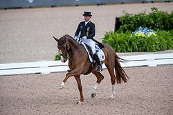 Werth Isabell, GER, Bella Rose<br /> World Equestrian Games - Tryon 2018<br /> © Hippo Foto - Dirk Caremans<br /> 13/09/18